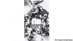 Дюрер - Ведьма на козле