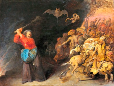 Брейгель - Ведьма